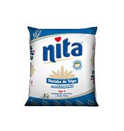 Farinha Trigo Nita Com Fermento 1kg Pacote