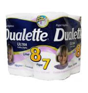 Papel Higiênico Dualette Ultra Neutro (8 unid