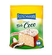 Mistura Bolo Coco Fleischmann 450g