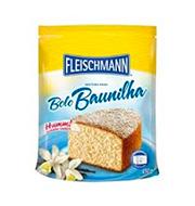 Mistura Bolo Baunilha Fleischamnn 450g