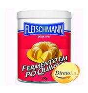 Fermento Fleischmann Em PÓ Quimico 100g