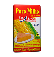Flocos Milho Puromilho Kisabor 500g Pacote