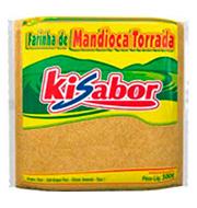 Farinha De Mandioca Kisabor Torrada 500g Paco