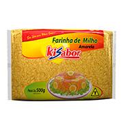 Farinha Milho Amarela Kisabor 500g Pacote