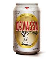 Cerveja Devassa Loura Pilsen Lata 350ml