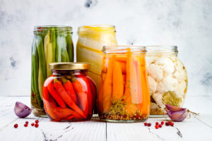 storing food for cold season