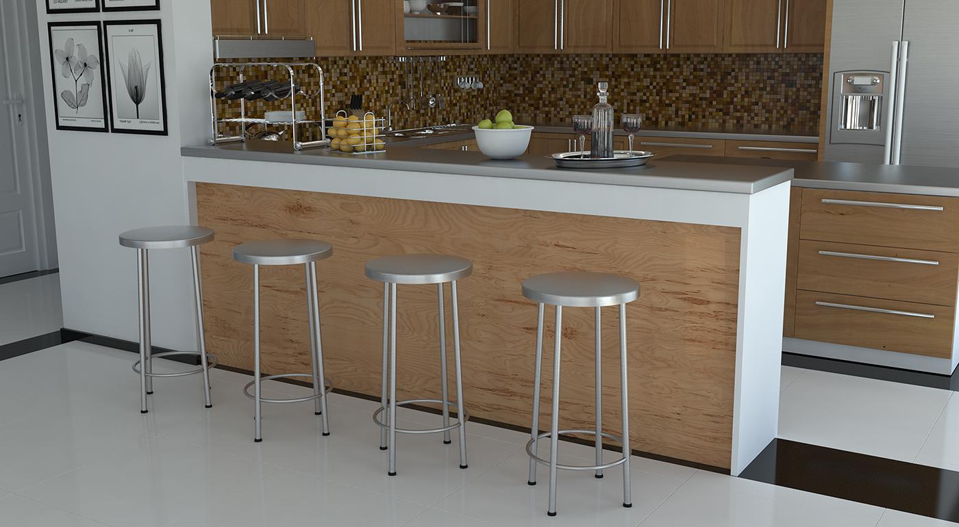 #634C34 de r $ 376 cadeira alezzia a partir de r $ 268 cadeira alezzia a  1400x770 px Altura Ideal Para Balcão De Cozinha Americana #1775 imagens