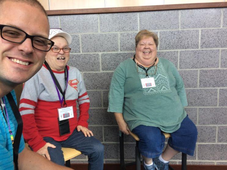 David Steppe, Wilmalea Nearhood, and Patricia Knapp
