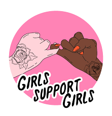 Girl sellers supporting girl sellers