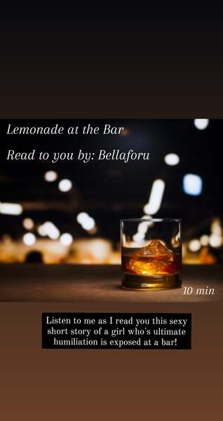 Lemonade at the Bar
