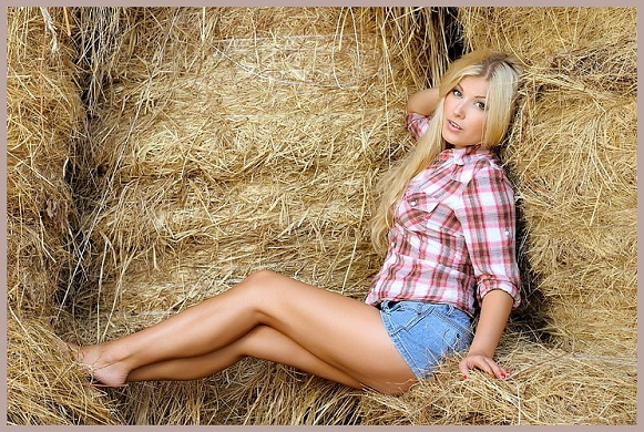 Stacking Some Hay