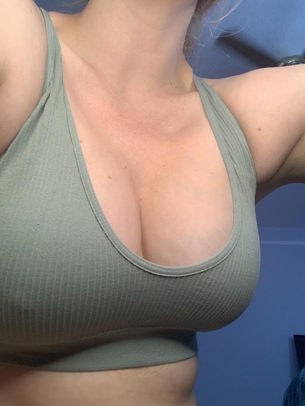 Dirty sports bra
