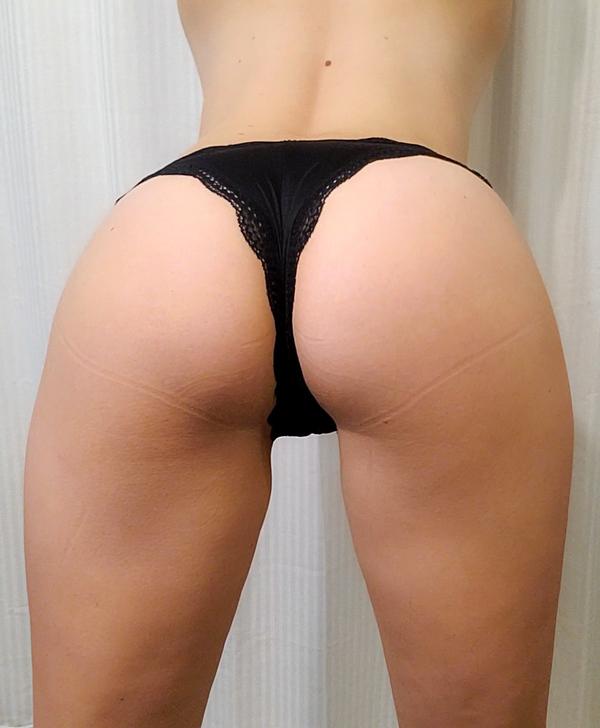 Silky Black Cheeky Panties