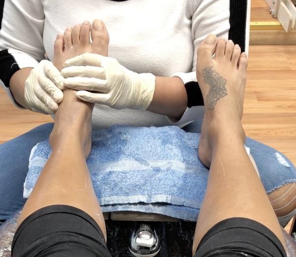 Foot Massage Full Video