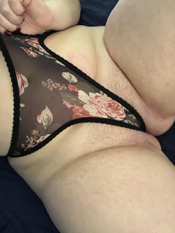 Mesh Flower Panties