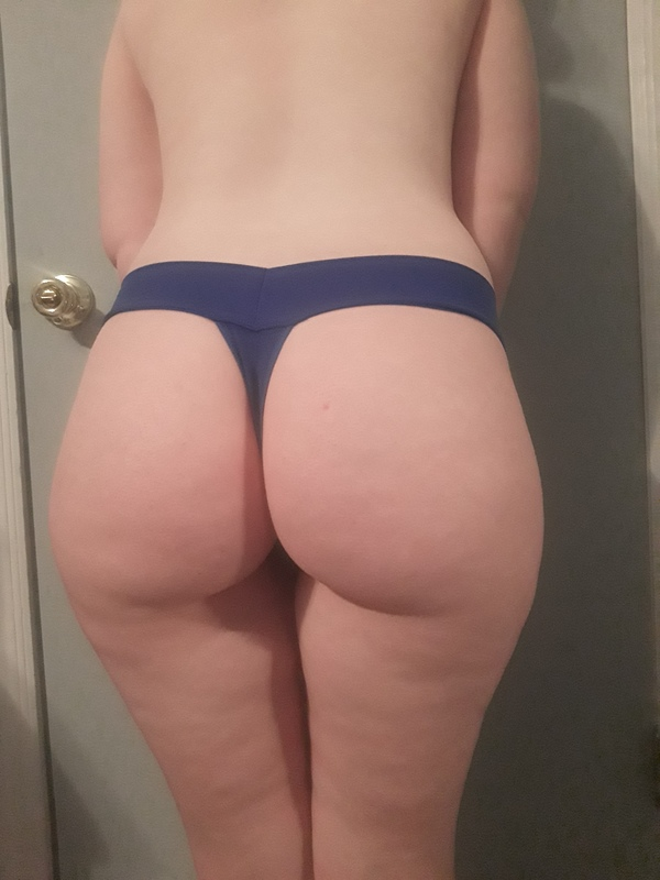 Perfect Blue Thong