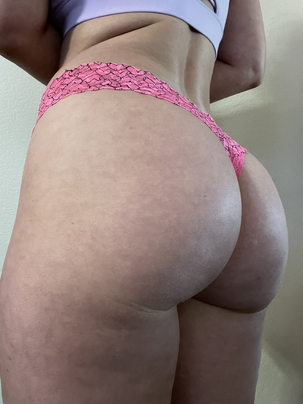 Victoria secret pink lace heart thong - special order