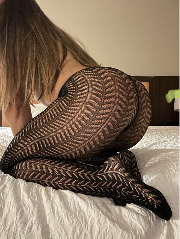 Sexy black pantyhose/leggings