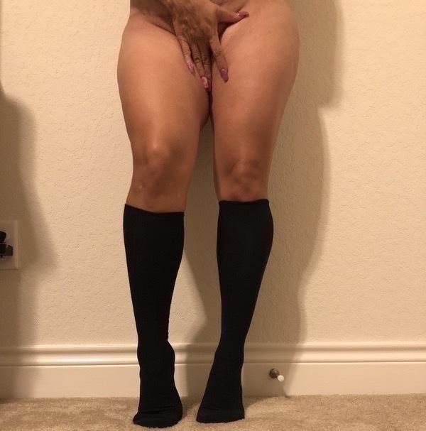Sweaty/Ripe Soccer Mom Socks