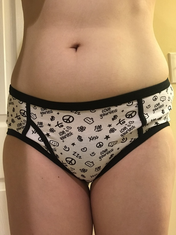 Black and White Doodle Panties