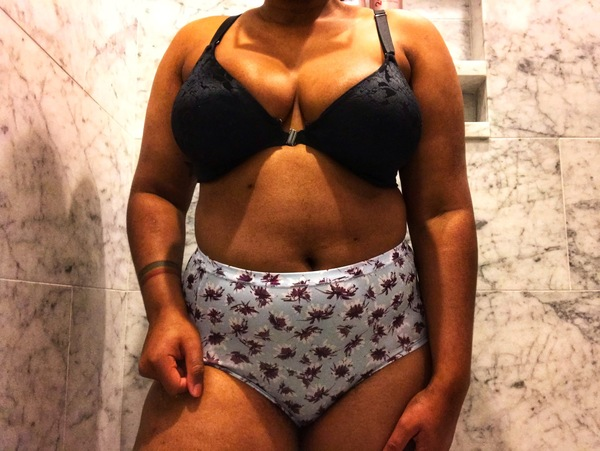 Pastel high-waisted panties