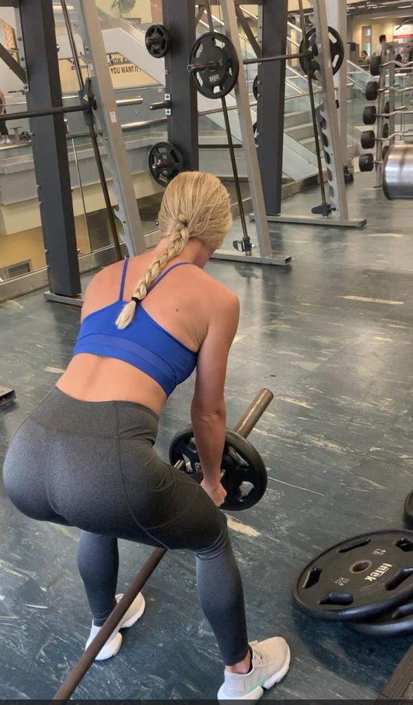 Sweaty gym clothes!!!