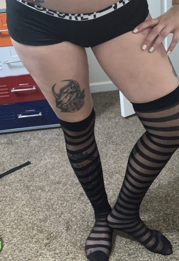 Stripped tights