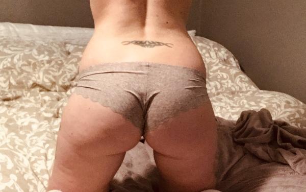 VS gray cheeky panties