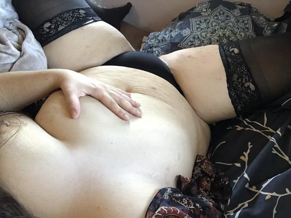 Backside floral mesh panties 🖤