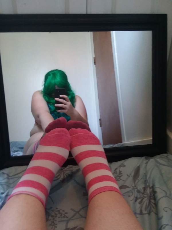 Pink Stripe ankle socks