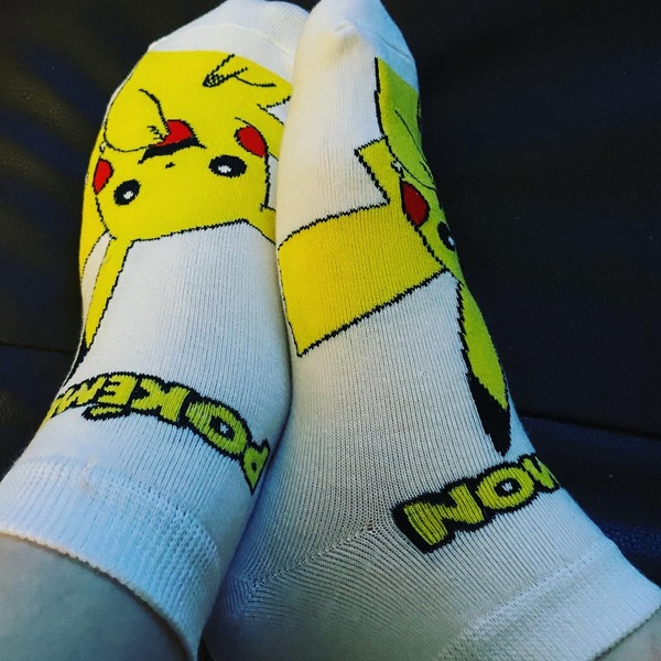 Pokémon socks!