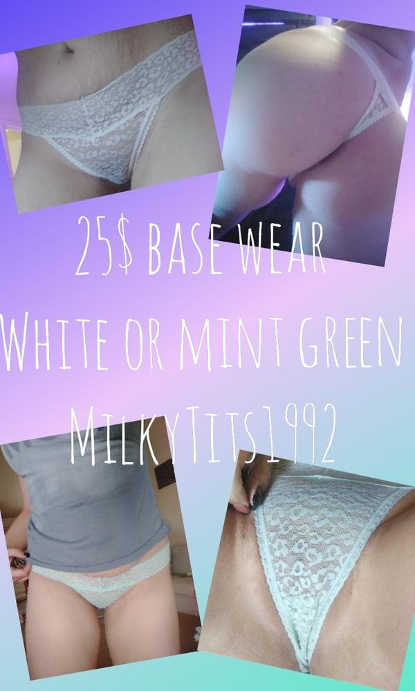 Lace panty 2 colors