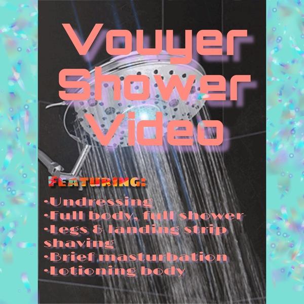 11m Vouyer Shower Video