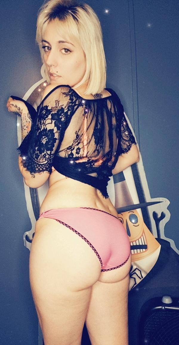 Xs full back pink panties