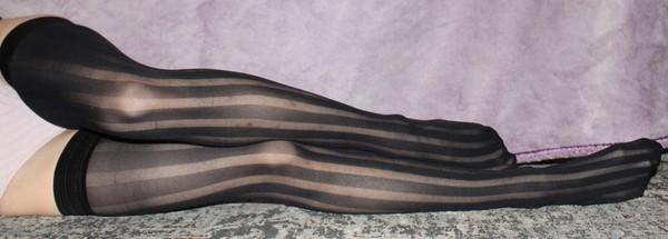 Flirty Stripe Stockings