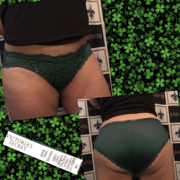 Green Silky VS Bikini #268