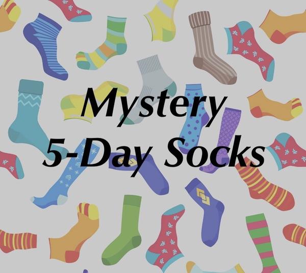 Mystery 5-Day Socks