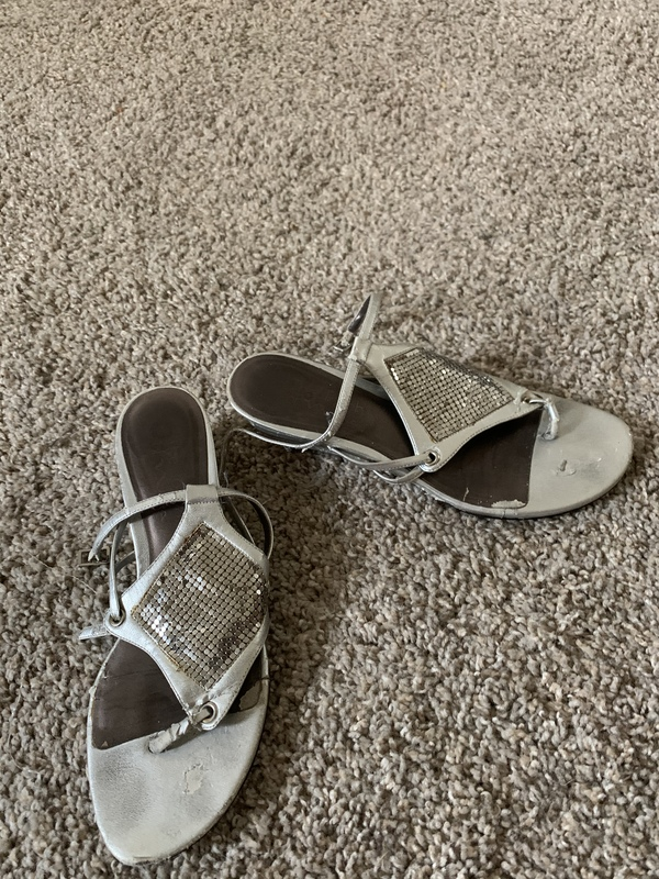My dirty sandals