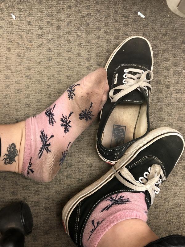 Work socks! How long will I wear them for?!