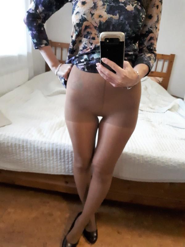Nude pantyhoses 3 days worn