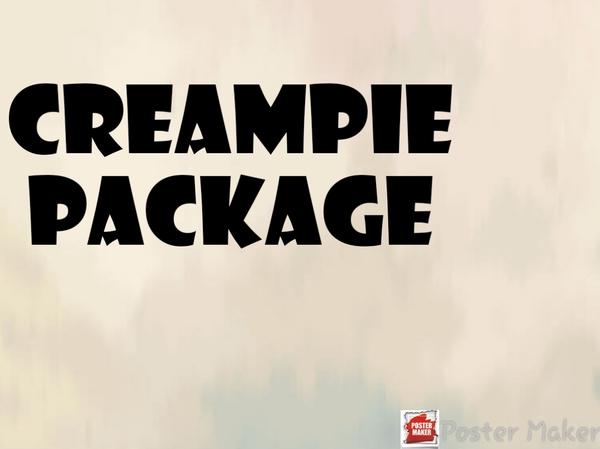 Creampie package