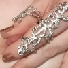 Rhinestone Chain Ring