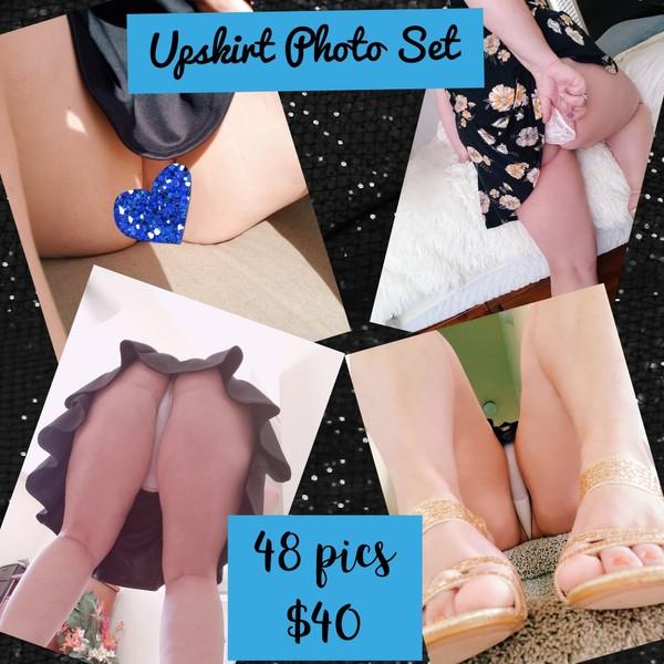 Upskirt photo set