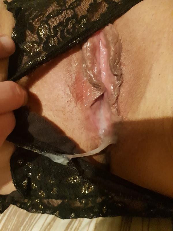 Creampie panties