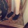 Short, black, socks