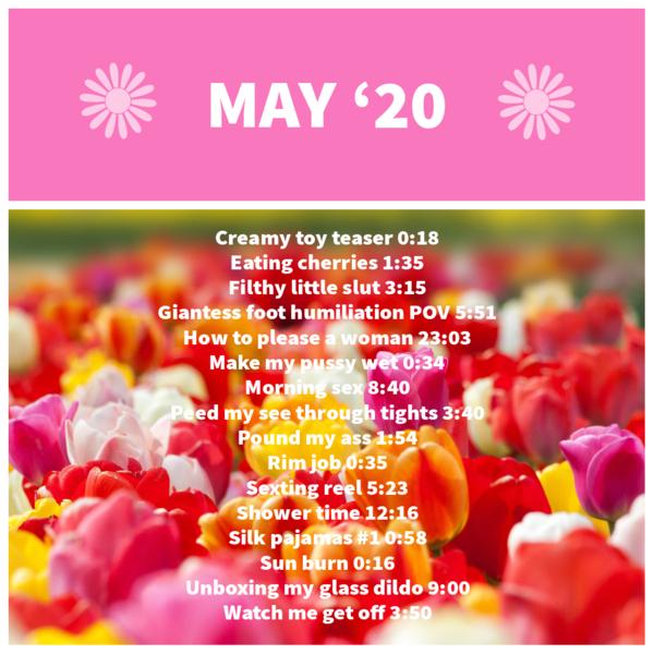 May 2020 Videos