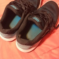VERY used work shoes