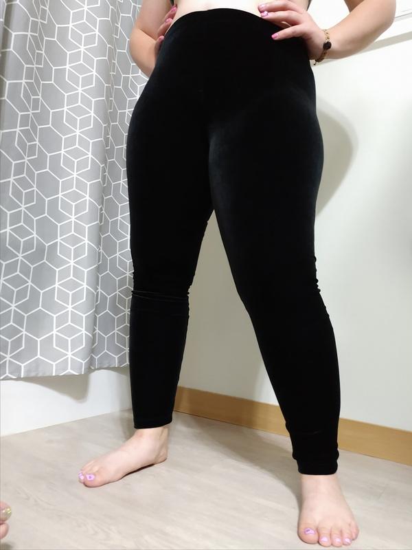 Black Velvet Tights
