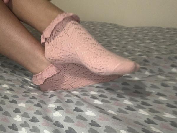 Pretty Pink Socks ❣️