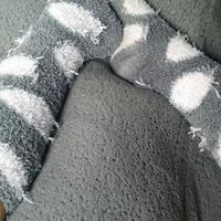 Fuzzy gym sweaty socks